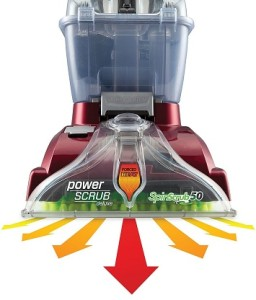 Hoover Power Scrub Deluxe Carpet Washer 3