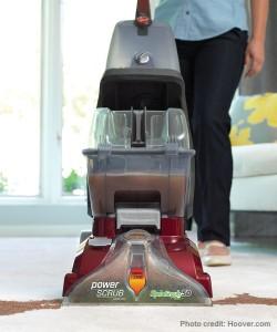 Hoover Power Scrub Upright Carpet Cleaner