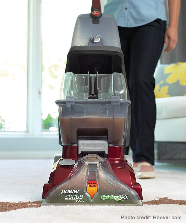 Hoover Power Scrub Upright Carpet Cleaner