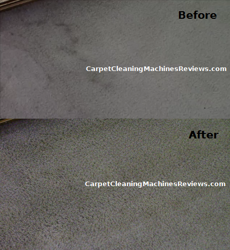 Hoover power scrub before after picture 2