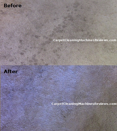 Hoover power scrub before after picture 1
