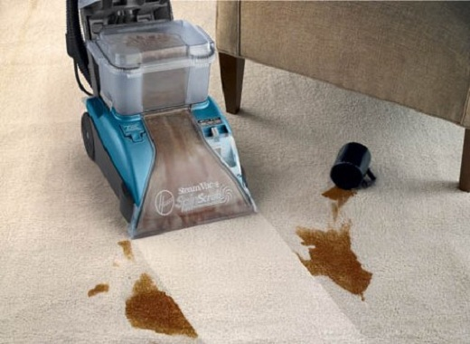 hoover steamvac cleaning stains