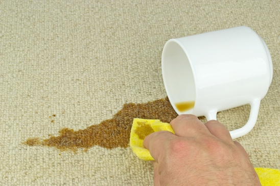 Removing Coffee Stain from Carpet