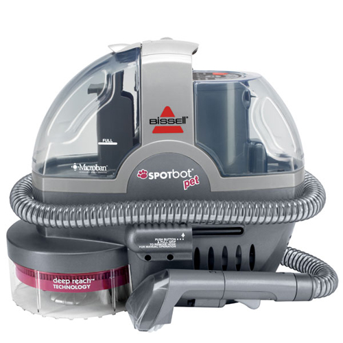 bissell spotbot pet deep cleaner 33n8a front view - Carpet Shampooer