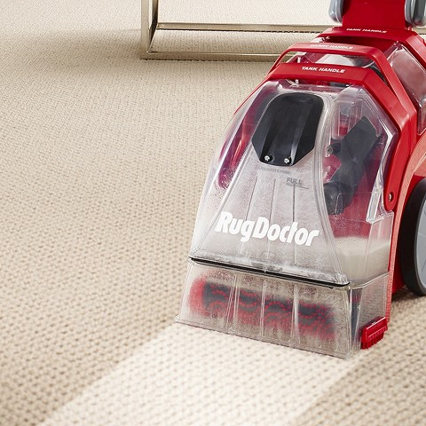 Rug Doctor Deep Carpet Cleaner cleaning
