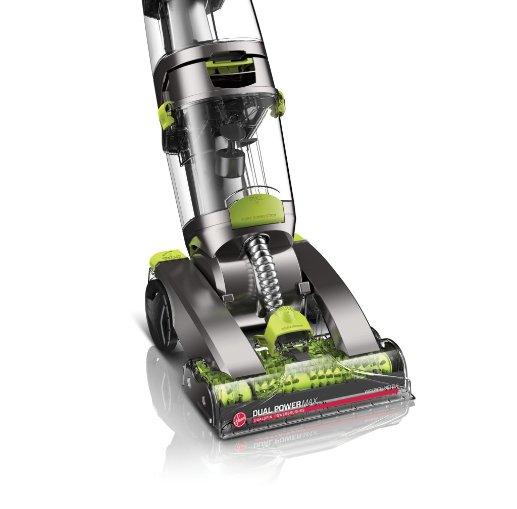 Hoover Dual Power Max Carpet Washer side view