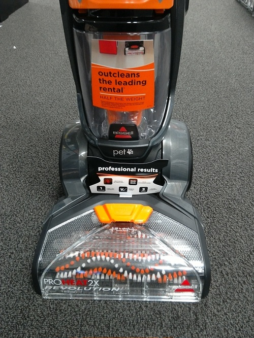 ProHeat 2X Revolution 1548 outcleans rental cleaner label