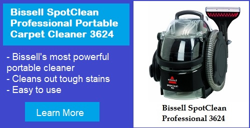 Bissell SpotClean Professional 3624 Portable Carpet Cleaner review