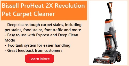 Bissell ProHeat 2X Revolution Pet Carpet Cleaner review