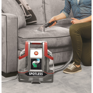 Hoover Spotless Portable Carpet & Upholstery Cleaner FH11300PC cleans upholstery